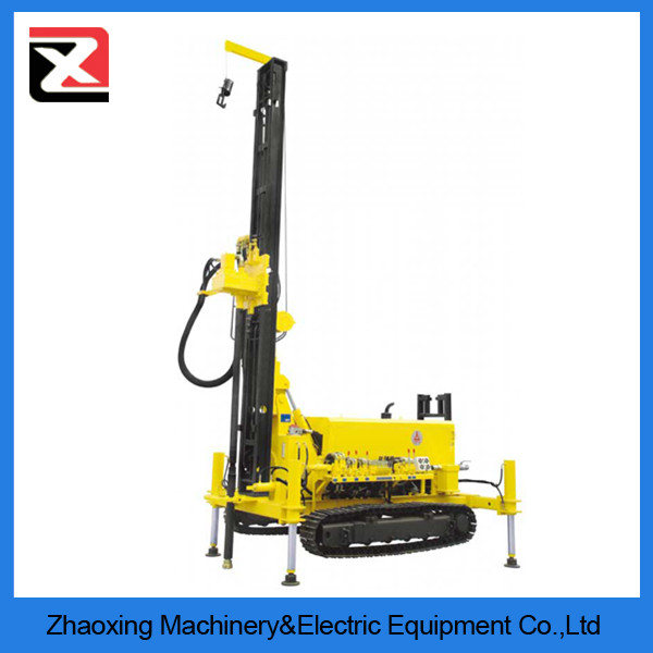 120m rotary portable hydraulic water well drilling rig machine