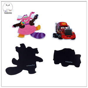 Company Logo Printed Small Cute Cartoon Car Shape Fridge Magnet For Refrigerator