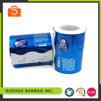 2016 new High quality bopp/cpp/pvc/pp/food grade plastic film roll