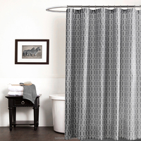 High Quality Waterproof Printed home goods shower curtains/shower curtain liner