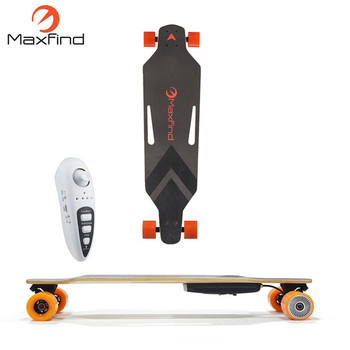 Maxfind Remote Electronic Longboard Skateboard With Brushless Motor