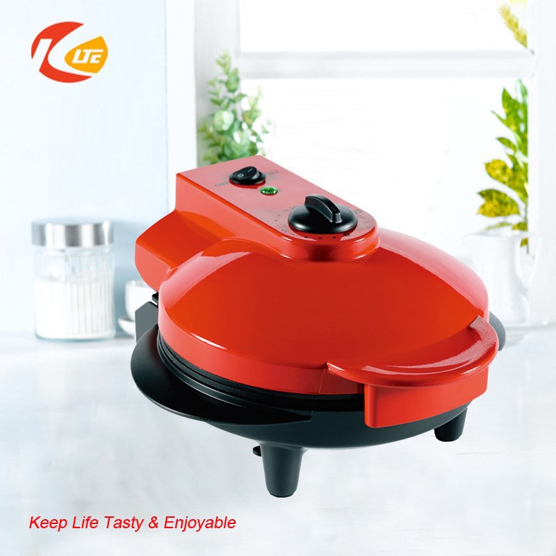 Non-stick multifunctional electric mini cooker, automatic pizza cone maker