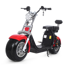 2 battery Fat tire electric scooter citycoco 2000 <strong>w</strong> 2000w city coco