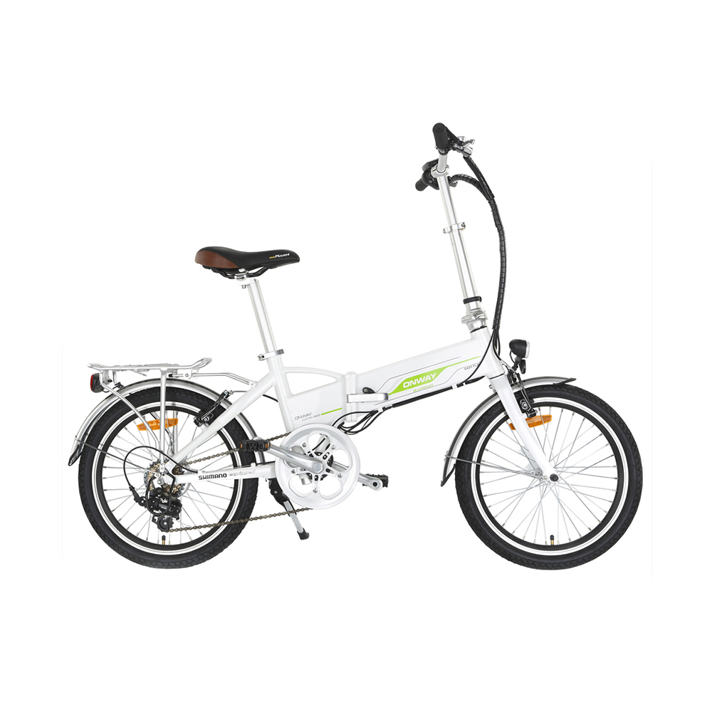 Green Power 24V 250W 9AH Hidden Battery Folding Electric Bike EN15194 Approved