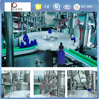 customized 2 nozzles 10ml bottle glass dropper e liquid filling line with CE certificatioin, e liquid filling machine for bottle