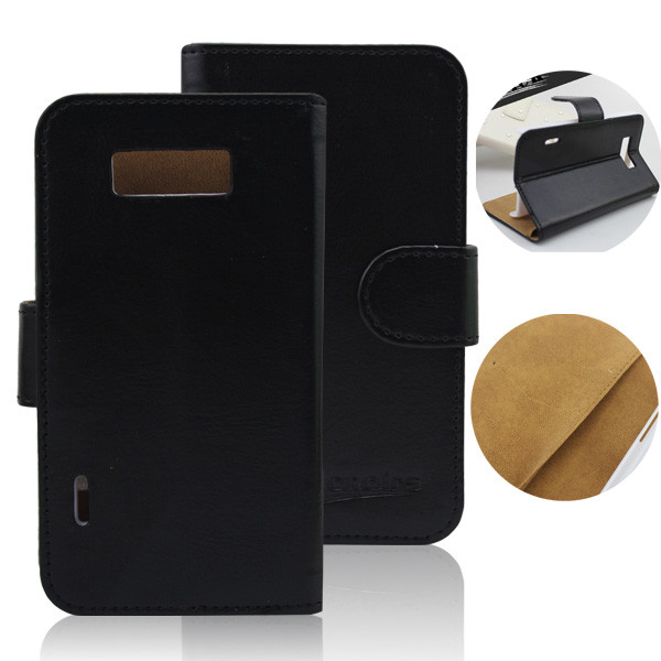 wallet flip leather case for lg p700 p705 optimus l7