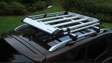 treasurall aluminum car roof tray roof cargo carrier rack