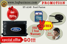 LSQ Star Car gps navigation for Ford Fusion with 3G PIP 6CDC GPS ST-A148 Hot Selling