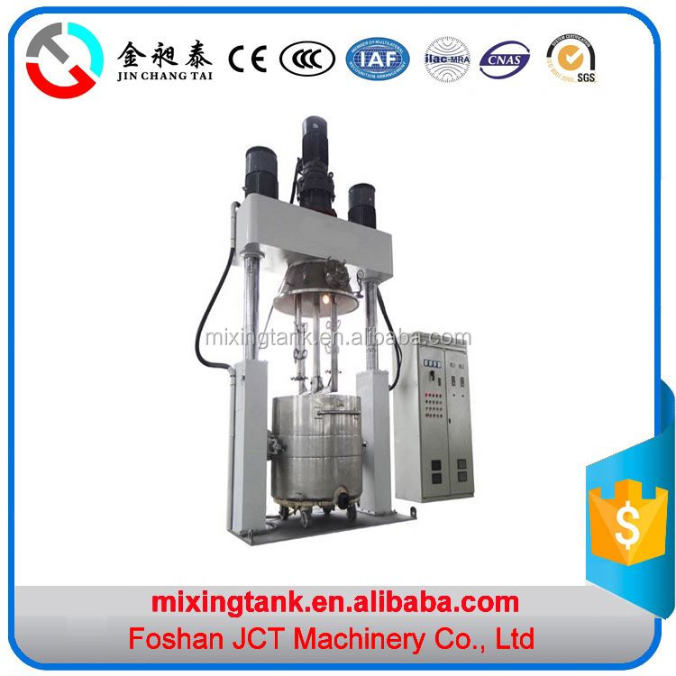 JCT Machinery power mixer lab silicon sealant mixing for chemical products