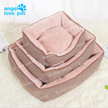 New Design High Quality Ultra Supple Velboa Soft Pet Bed Dog Bed