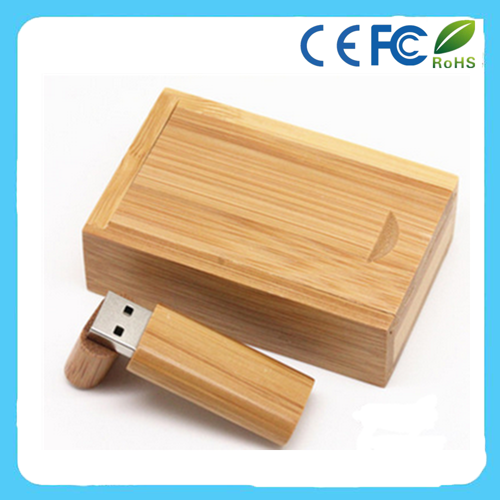 Eco-friendly bamboo USB2.0 Flash Pen Drive 16gb fancy wooden pen drive