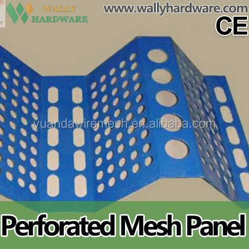 Plastic Flexible Wind Dust Wire Mesh , High Quality Steel Windproof And Dust proof Mesh , Perforated Metal Sheet