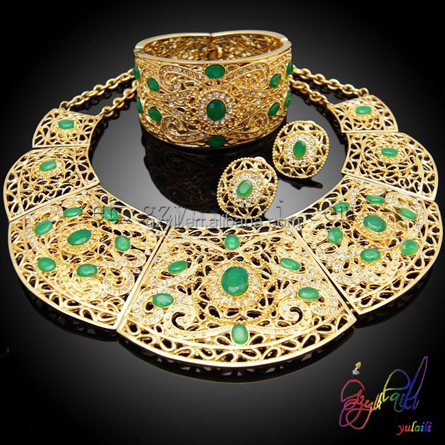 Gold Fashion Jewelry Sets