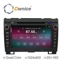 Ownice Quad core 1.6GHz android 5.1 car GPS Radio for Hover H3 H5 built in RDS 2G RAM 1024*600