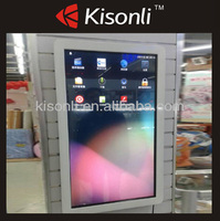 "Customizing Indoor/Outdoor Wall Mounted 22"" LCD Touch Screen Advertising Machine For Promotion"