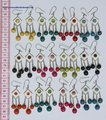 Horn Earrings Color Seeds Wholesale Costume Fashion Jewelry