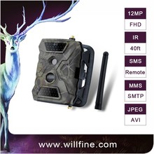 GPRS/GSM 12MP 1080P MMS/SMS/E-mail IR Game Scouting Trail Hunting Camera