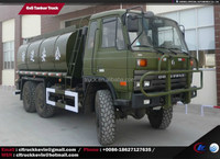 6x6, 6*6 military water tanker truck