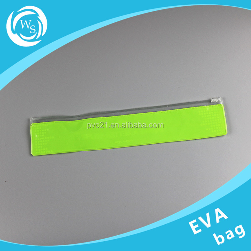 transparent EVA eco-friendly packaging bag with button