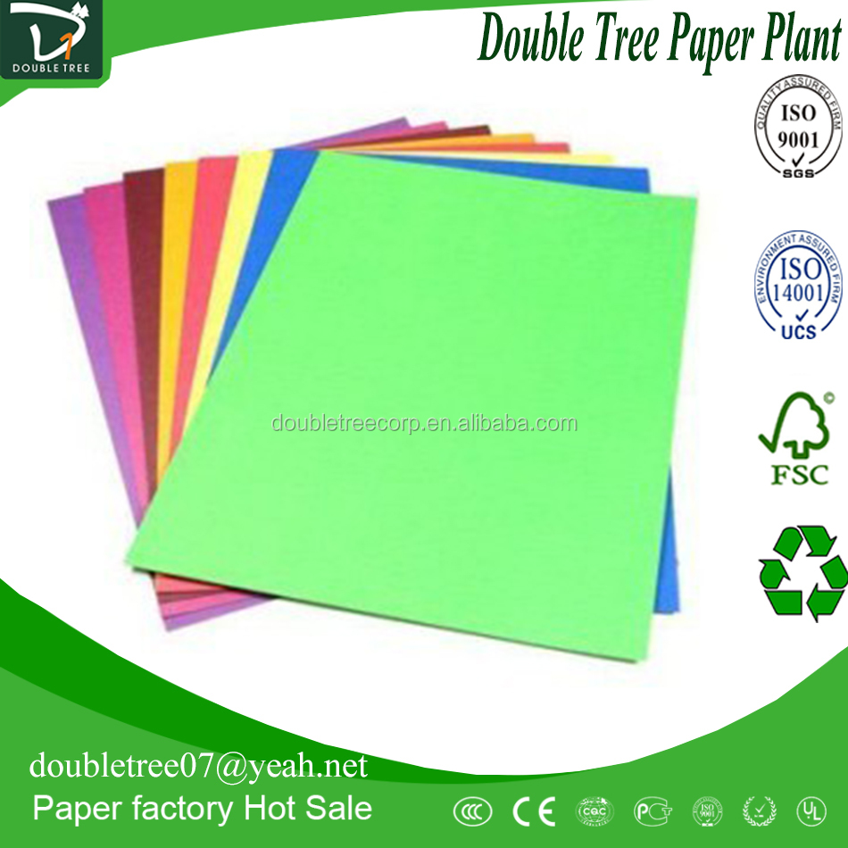 China import direct 70-110g ten colors manila paper best products for import