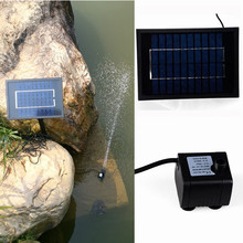 Ideal garden decoration fountain solar powered water pump