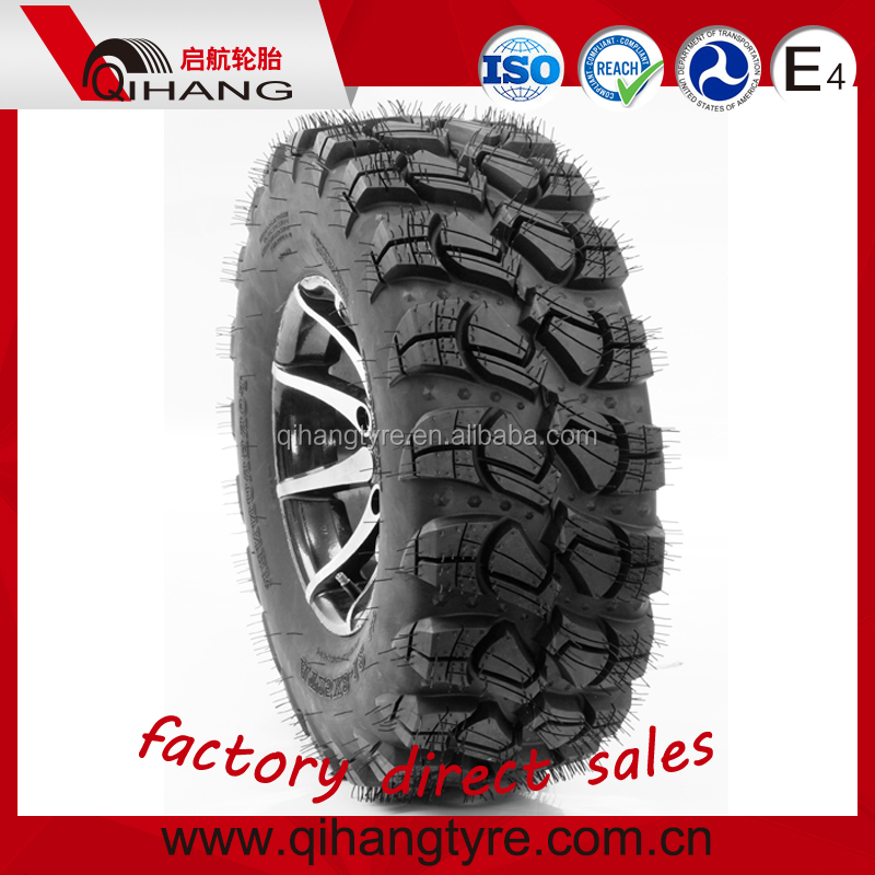 25X8-12 25X10-12 235/30-12 hard-wearing ATV UTV TYRES with DOT victory pattern