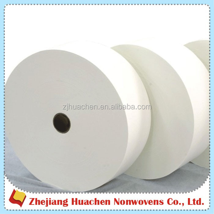 Diapers Raw Materials Hydrophilic Spunlace Nonwoven Fabric