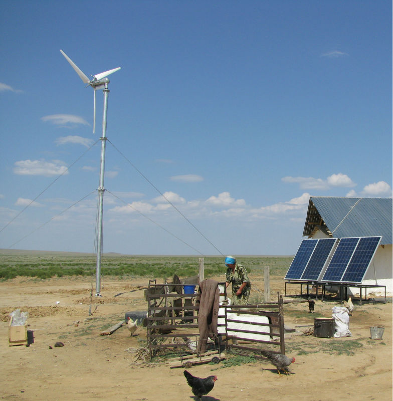 On-grid and off-grid wind turbine for sales family use wind power system