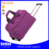 Outdoor leisure trolley bag extra large short time trip rolling duffel bag import from China travel bag