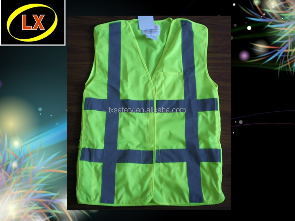 100% Polyester Mesh Reflective Safety Vest