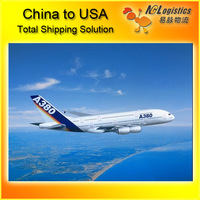 air shipping transports from China to USA