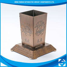 New Decoration Promotional Etching Metal diy art and craft for waste materials