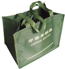 promotion orange customer's logo printed non woven bag printed shopping bags baby wipes and cleaning wipes