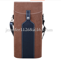 hot sale wine cooler bag wine bottle bags with shoulder strap