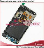 new for samsung i9070 for galaxy s advance lcd display+touch screen digitizer with frame and home button assembly
