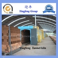 New product Durable small tunnel dryer for clay brick production line