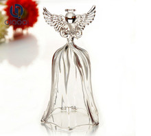 china manufacturer christmas angel ornaments,lovely small glass angel,unique angel figurines for christmas