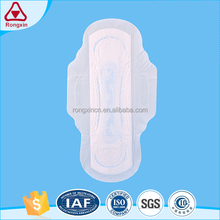 High Quality Disposable Organic cotton sanitary pads pure cotton sanitary napkins with cheap price