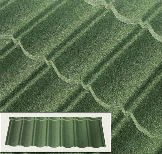 Metal Building Material Sand Covered Metal Roof Panel