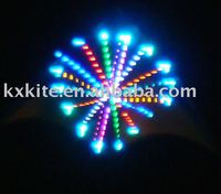 LED kite, night flying kite, flash kite