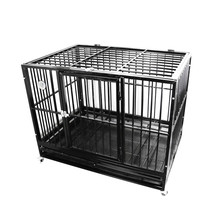 large size folding heavy duty dog crate wholesale