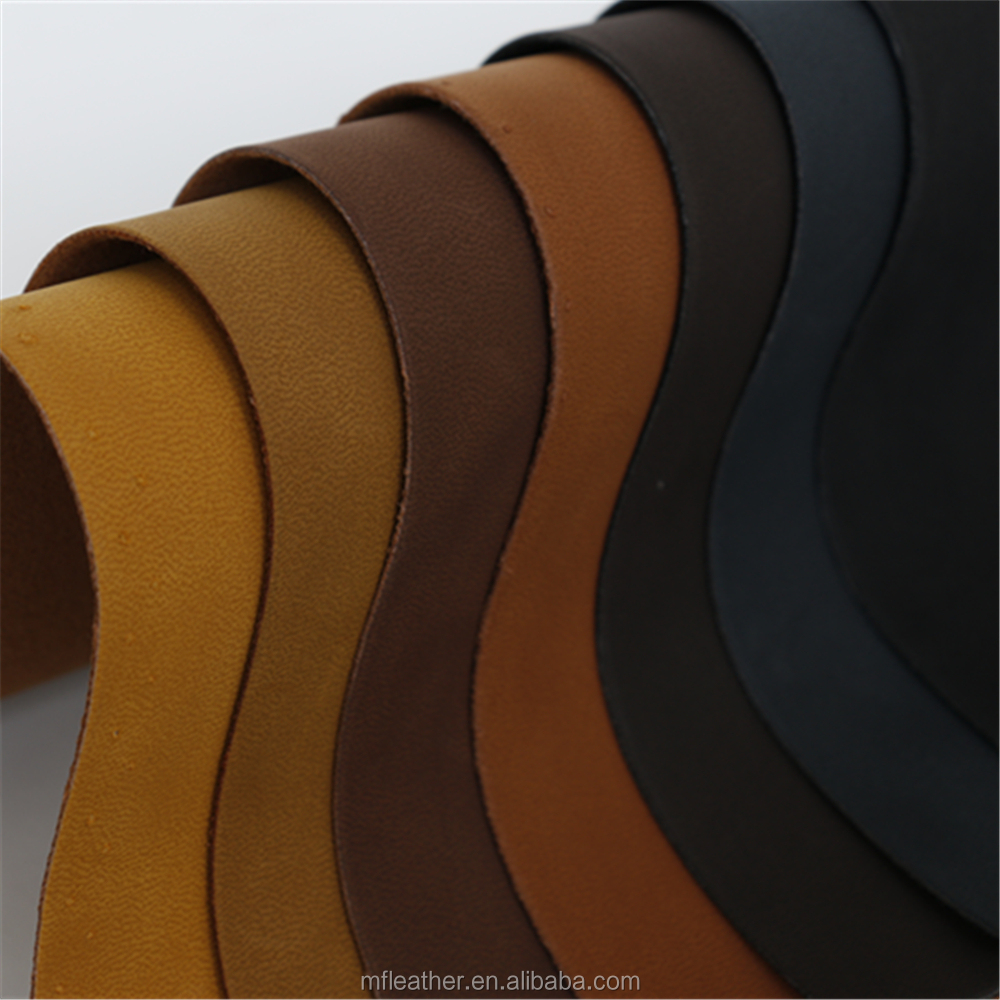 PU Material and Flocked Pattern pu leather ,Automotive Upholstery Leather