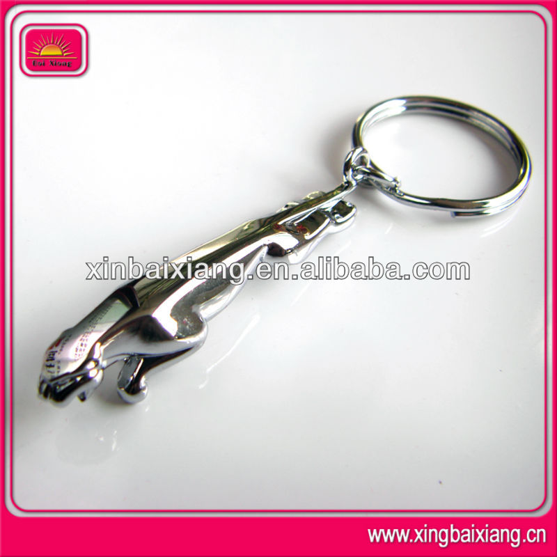 New design jaguar keychain