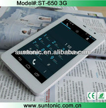 6.5 inch 3G mini tablet phone with MTK 6572 dual core