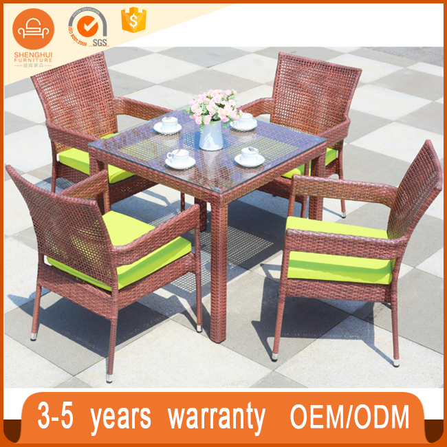 Fashionable Style Hand Weaved High quality Garden Chairs Outdoor Patio Furniture
