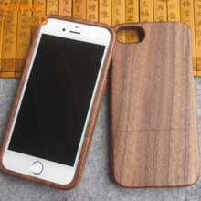 Bamboo wood mobile phone and cell phone case for i phone 7