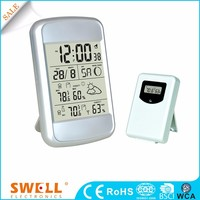 Good RF wireless 433mhz weather station uk with rcc clock