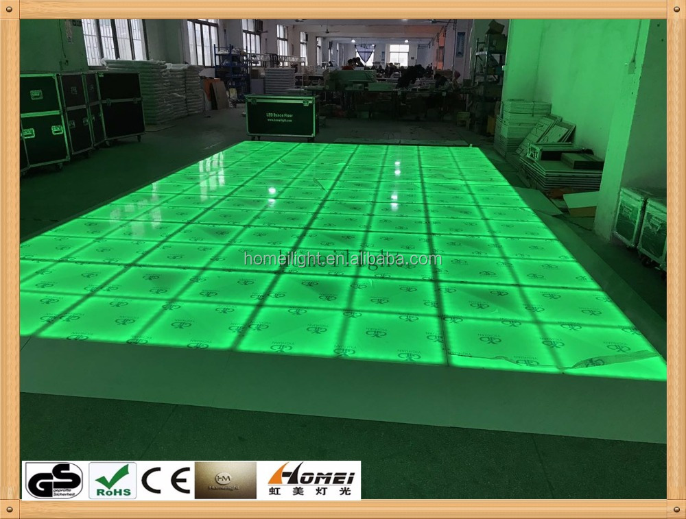 RGB Acrylic Waterproof LED Dance Floor for Wedding Disco Party