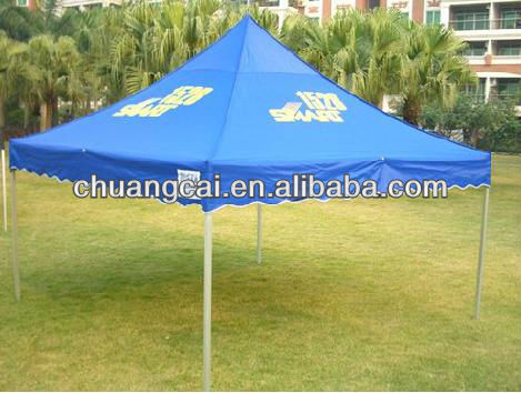 folding canvas tent pop up canopy family outdoor tent