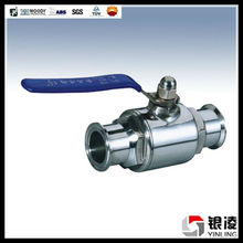 Sanitary Quick Installed Stainless Steel Ball Valve